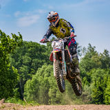 Dirt Bike Jumping Stock Photos