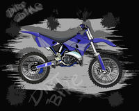 Dirt bike. Motorcycle for movement on rough terrain, and freestyle motocross Stock Image