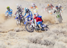 Dirt Bike Race Experts Stock Images