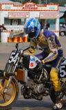 Dirt bike racer Stock Images