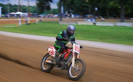 Dirt bike racing event Stock Photography
