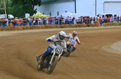 Dirt bike racing event Stock Photo