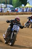 Dirt bike racing event Stock Photo