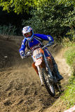 Dirt bike rider Royalty Free Stock Images