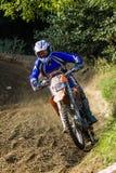 Dirt bike rider Royalty Free Stock Images