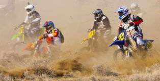 Dirt Bike Start Royalty Free Stock Photo