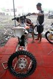 Dirt bike Stock Image