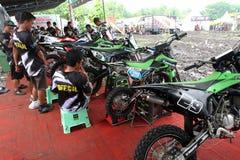Dirt bike Royalty Free Stock Photos