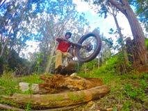 Dirt biking Trials Royalty Free Stock Images