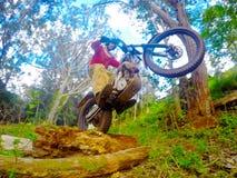 Dirt biking Trials Stock Images