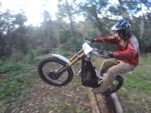 Dirt biking Trials Royalty Free Stock Photos