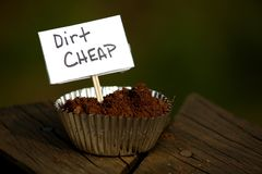 Dirt Cheap Stock Photo