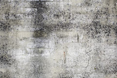 Dirt in front. Dirty urban facade wall construction Royalty Free Stock Photography