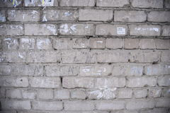 Dirt mud wall with advertisement paper Royalty Free Stock Photography