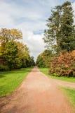 Dirt Path in Arboretum Royalty Free Stock Image