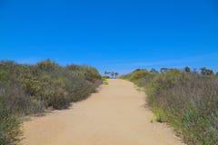 Hiking path california stock photography