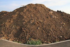Dirt pile Stock Image