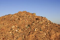 Dirt Pile Stock Photo