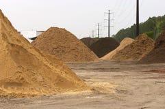 Dirt piles Stock Photography