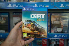 Dirt Rally Royalty Free Stock Photography