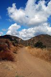 Dirt Road. Cleveland National Forest royalty free stock photos