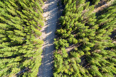 Dirt Road Aerial Stock Photos