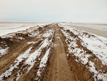 Dirt road. Stock Photography