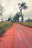 Dirt road in Australia Royalty Free Stock Photos
