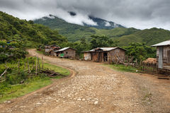 Dirt Road, Chin State, Myanmar Royalty Free Stock Photography