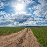 A dirt road Royalty Free Stock Photography
