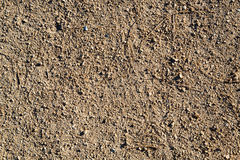 Dirt Road, Detail of surface texture with small pebble rock Royalty Free Stock Image
