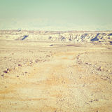 Dirt Road  in Israel Stock Photography
