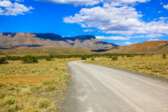 Dirt road in the Karoo National Park, South Africa Stock Image