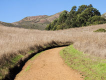 Dirt Road in Marin Headlands Stock Photo