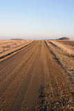 Dirt road miwdwest bare royalty free stock images
