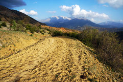 Dirt road Stock Photography