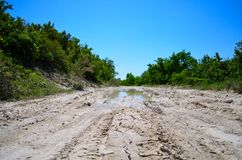 Dirt road Stock Images