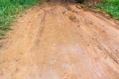 Dirt road after the rain Stock Photos