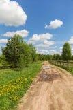 dirt road rural Στοκ Φωτογραφία