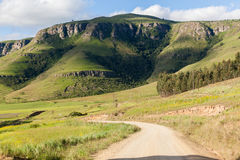 Dirt Road Scenic Mountains Royalty Free Stock Image