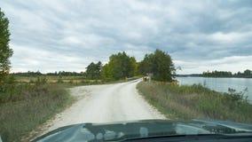 Dirt road in Seney National Widlife Refuge Stock Photos