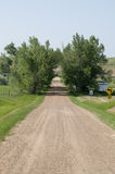 Dirt Road in South Dakota Stock Photography
