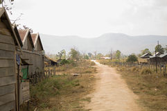 Dirt Road in Village Stock Photos