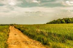Dirt road. Royalty Free Stock Photos