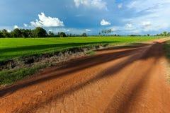 Dirt roads Stock Photography