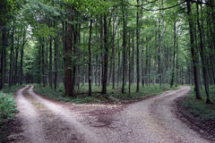 Dirt roads Royalty Free Stock Images