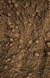 Dirt,soil,dust. Close-up of dirt at a construction site royalty free stock photo