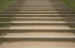 Dirt staircase Stock Photography