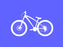 Dirt street Bicycle Royalty Free Stock Images