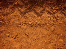 Dirt texture. With tire print stock photography